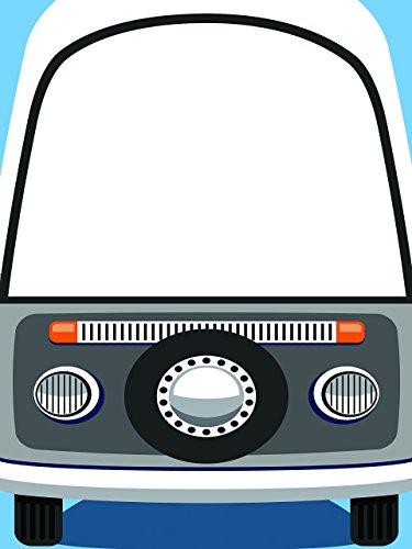 Personalised Camper Van Photo Booth Prop - sizes 36x24, 48x36; Personalized Wedding van, Bus, hippie van, Retro Van, Car Wedding, Home Decorations, Handmade Party Supply Photo Booth -
