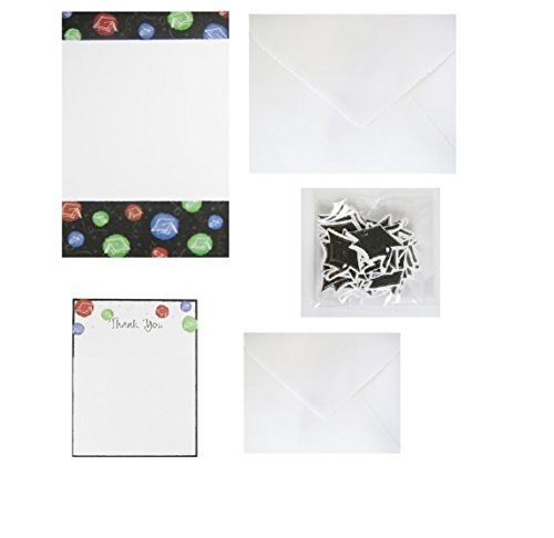 Graduation-Announcement-Kit-Create-on-your-own-computer-Comes-with-Invitations-Thank-You-Cards-Envelopes-more-50-COUNT