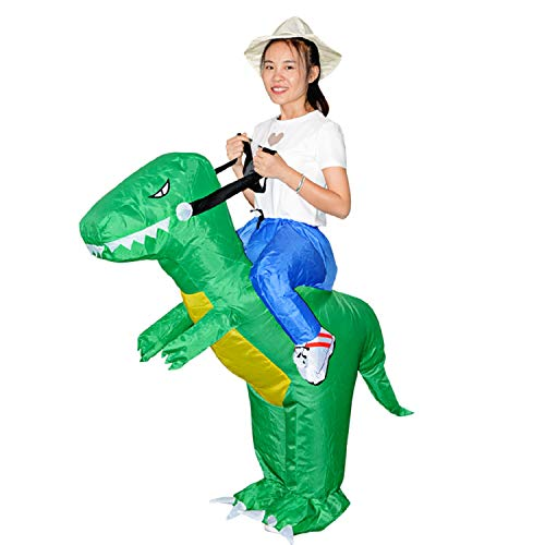 MH ZONE Inflatable Costumes for Children Kid Halloween, Inflatable Suit Cosplay Funny Dress (Child -