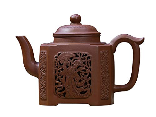 Chinese Traditional Old Zisha Teapot