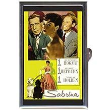Audrey Hepburn Humphrey Bogart Guitar Pick or Pill Box USA Made