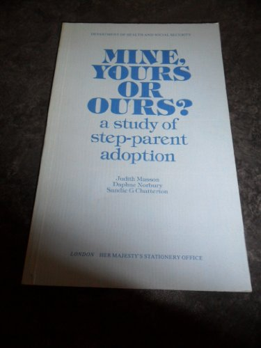 Mine, Yours, or Ours?: A Study of Step-Parent Adoption
