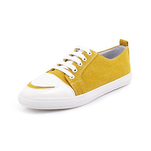 Lace 46 Sneaker Women Summer Green 2018 Fashion Woman Black 29 Perfues Shoes Shoes Yellow Size up XqfwR