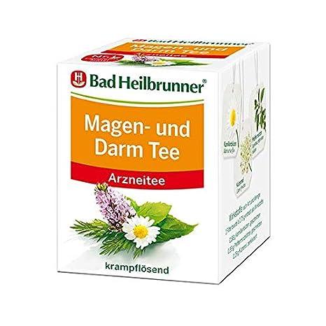 Bad Heilbrunner Magen und Darm Tee, 8 St: Amazon.de: Lebensmittel ...
