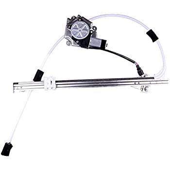 ROADFAR Power Window Regulator and Motor Replacement Parts fit for 2002-2007 Jeep Liberty Rear Left Drivers Side 55360035AJ 68059647AB 748-569