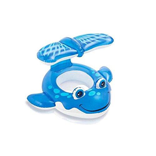qwg de ballena Ride Niños Asiento nadar anillo hinchable flotador Agua Bebé de juguete 104*84 (cm): Amazon.es: Deportes y aire libre