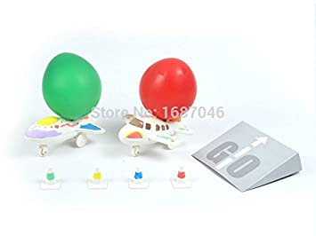 Amazon Traditional Balloon DIY Airplane Helicopter For Kids Child Outdoor Toy Flying Kid Birthday Gifts Baby