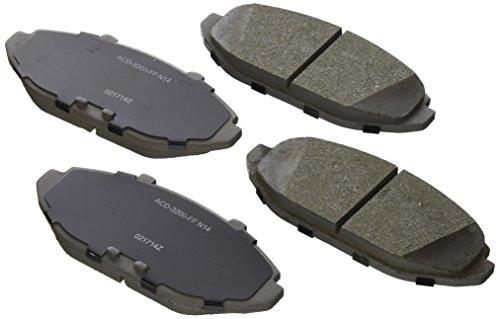 ACDelco 14D748CH Advantage Ceramic Front Disc Brake Pad Set