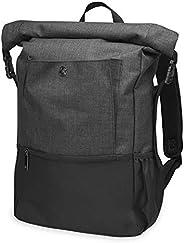Gaiam Yoga Mat Bag Backpack   On-The-Move Roll Top Travel Carrier Daypack   Messenger Rucksack   Multiple Pock