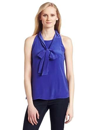 525 America Women's Tie Front Shirt, Costa Brava, Small
