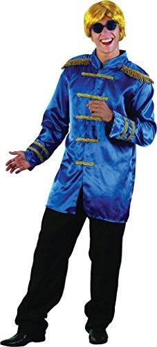 Sgt Pepper Jacket Budget Blue - Blue Sgt Pepper Costume
