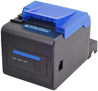 Impermeable A Prueba De Aceite A Prueba De Polvo 80 Mm MUNBYN POS Impresora con Cortador Autom/ático USB Serial LAN ESC//POS con Sonido WFGZQ Impresora T/érmica De Recibos