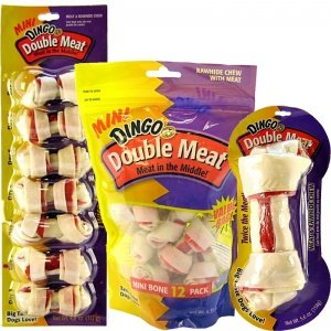Dingo Double Meat Bone