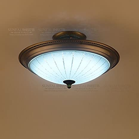 YI.LAN.YI Light Luz LED cristal lámpara de techo plancha ...