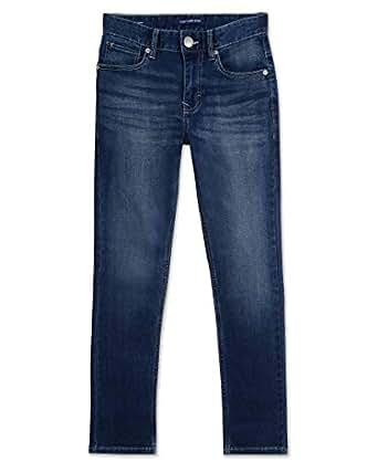 Calvin Klein Boys' Big Skinny Jeans, Authentic, 10