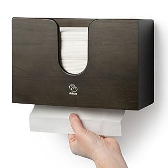 Dispensador de toalla de papel para cocina & baño – Soporte de pared/encimera Multifold