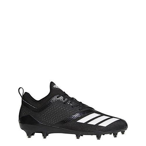 Adidas Black Football Cleat - adidas Adizero 5Star 7.0 Cleat Men's Football 7.5 Black-White