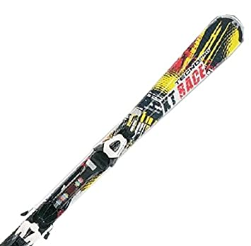 5aace8f5d Tecno Pro XT Race Children's Ski Set System with ETC45/ETL75 Binding  SCHW/GELB