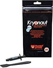 Thermal Grizzly Kryonaut The High Performance Thermal Paste for Cooling All Processors, Graphics Cards and Heat Sinks in Computers and Consoles (1 Gram)