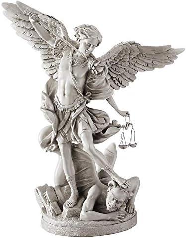 Design Toscano EU1850 St. Michael the Archangel Religious Statue