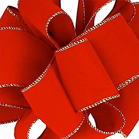 Red Swiss Velvet Ribbon \u2022 316 \u2022 14 \u2022 38 \u2022 58 \u2022 78 \u2022 1-12 \u2022 2