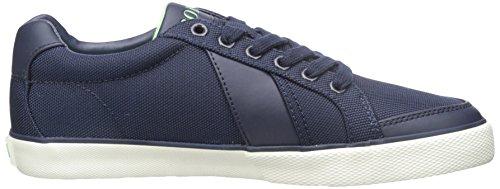 Polo Ralph Lauren Mens Hugh Pique Nylon Fashion Sneaker Newport Navy Sow81GyYw