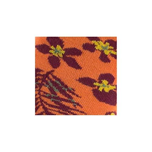 En Chaussettes Orange Coton Tropical Achile Thème OtAqxB