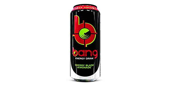 VPX Bang Energy Drink Cherry Blade Lemonade - 12 Unidades: Amazon.es: Salud y cuidado personal