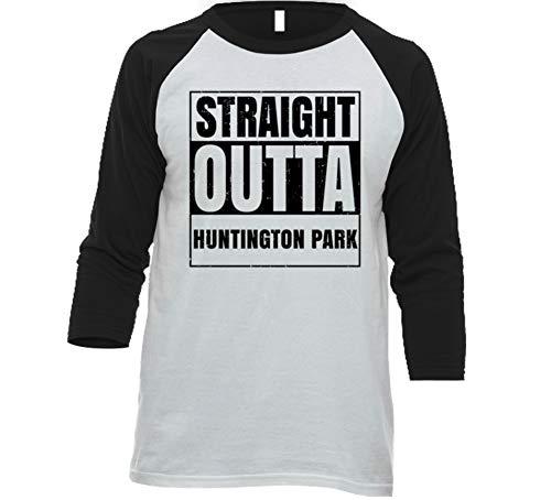 Straight Outta Huntington Park California City Grunge Parody