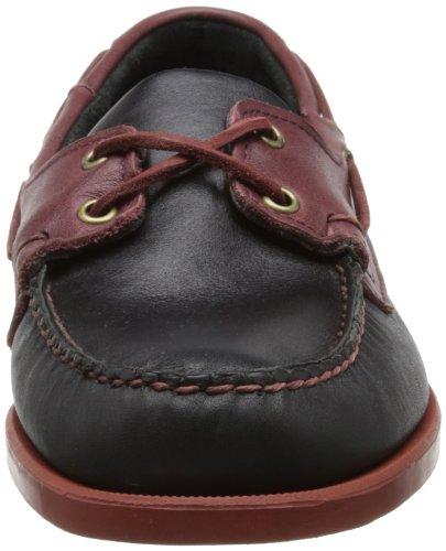 merlot Sebago Chaussures Homme Spinnaker Black IqwrFXq4