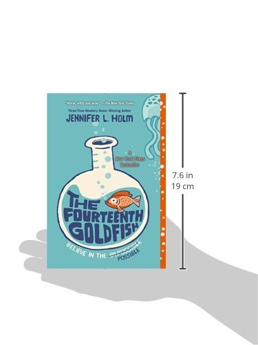 The Fourteenth Goldfish: Jennifer L. Holm: 9780375871146: Amazon ...