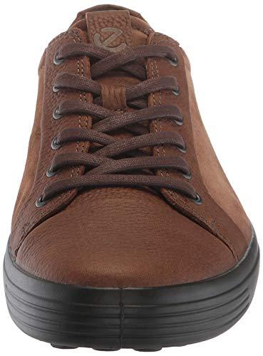 Suede Brown 7 cocoa Para Soft Men's Brown Hombre Cocoa Zapatillas Ecco xS0qvFfwn