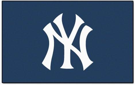 FANMATS MLB New York Yankees Nylon Face Ultimat Rug