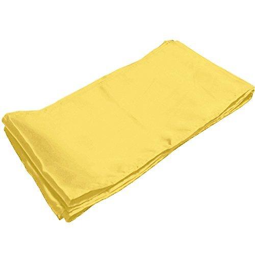 Dobelove Kung Fu Satin Sash Belt ,One Size,Yellow