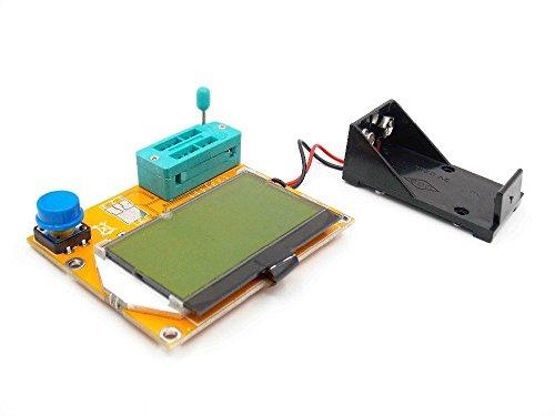 Bolsen Digital ESR Meter Mega328 Transistor Tester LCR-T4 esr tester MOS/PNP/NPN L/C/R TESTER METER electric meter circuit