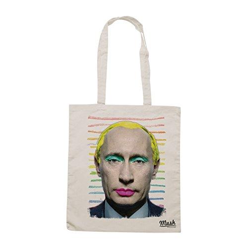 Borsa PUTIN LGBT FRIEND RAINBOW - Sand - MUSH by Mush Dress Your Style
