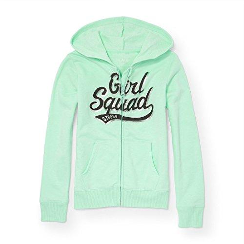 The Children's Place Big Girls' Active Zip Hoody, Mermaids Tale 5946, XL (Girl Places Kids Sweatshirt)