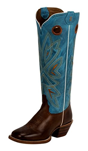 Tony Lama Women's Burnet 3R Buckaroo Cowgirl Boot- Square...