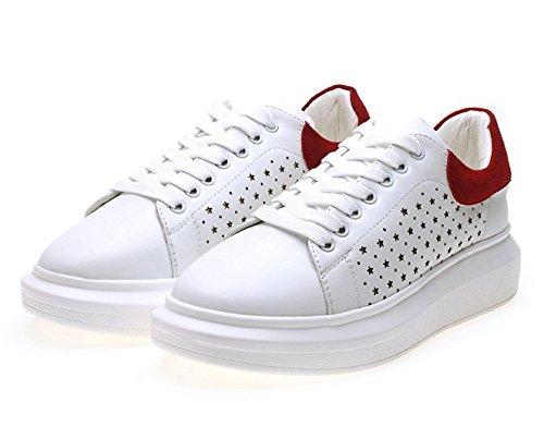 Wendy Wu Damesmode Sneakers Sportschoenen Rood