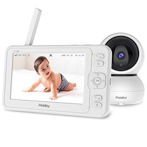 Video Baby Monitor, Pelaby 1080P 5