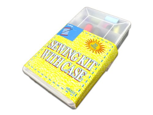 96 Packs of 20 Pack sewing kit with case by Sterling