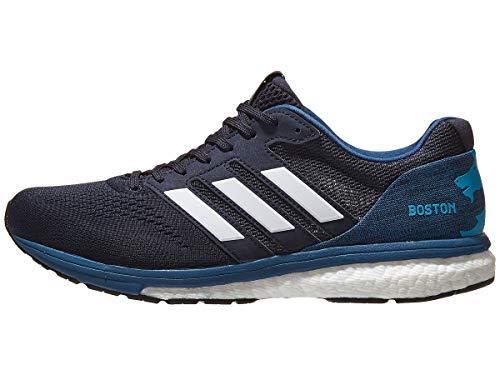 adidas Women's Adizero Boston Marathon 7, Legend Ink/White, 7.5 B