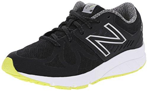 New Balance Vazee Rush G Running Shoe (Big Kid) Black/yellow