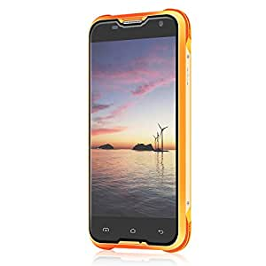 Blackview BV5000 5'' Unlocked Smartphone Dual Sim Rugged 16 GB 4G Orange