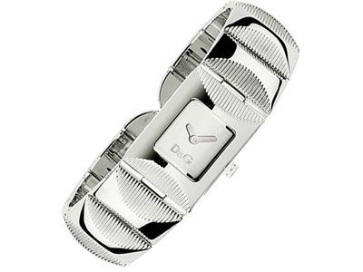 Dolce & Gabbana Tweed Silver-Tone Dial Women's Watch #DW0322