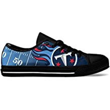 AllAmbitions Men's Tennessee Football Custom Fan Made Low Top Canvas Shoes