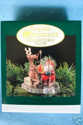Hallmark KEEPSAKE ORNAMENT COLLECTOR'S CLUB KIT 1995
