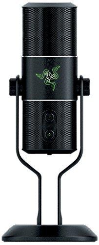 Razer Seirēn - Micrófono para ordenador, negro