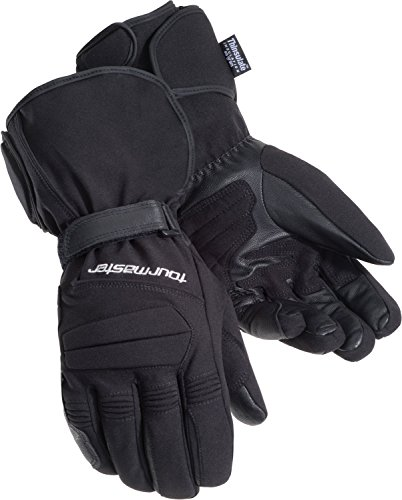 (Tour Master Synergy 2.0 Electrically Heated Mens Textile Street Racing Motorcycle Gloves - Black / 2X-Large)