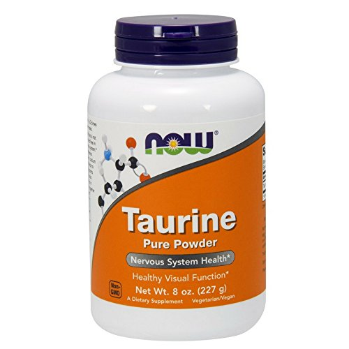 NOW Taurine Powder, 8-Ounce